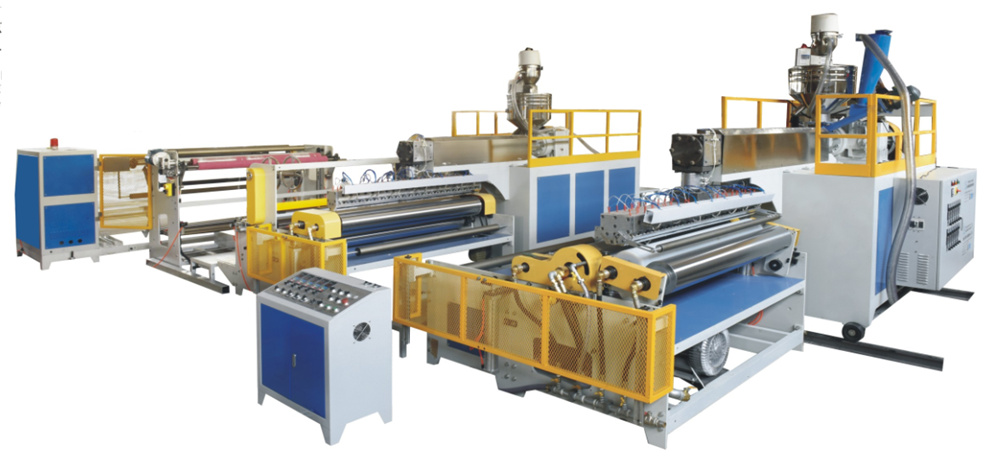 3-layer air bubble film machine (2 extruders)